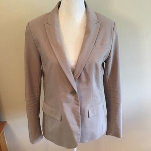 Apt. 9 tan one button blazer jacket size 14